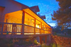 320 Solitude, Pagosa Springs, Colorado, back deck, home and property for sale