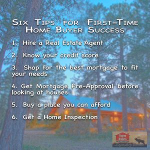 Six Tips for First-Time Home Buyer Success