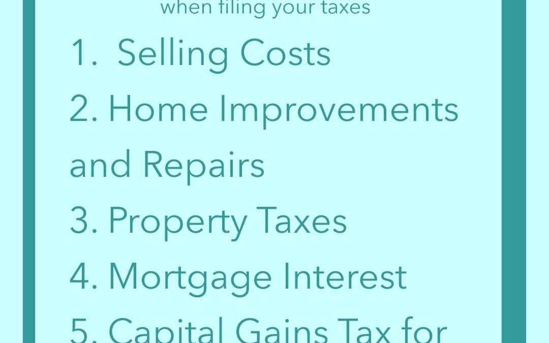 5 Tax Season Breaks for Home Sellers