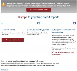free credit report image