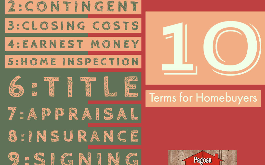 Homebuyers! Terms to Understand