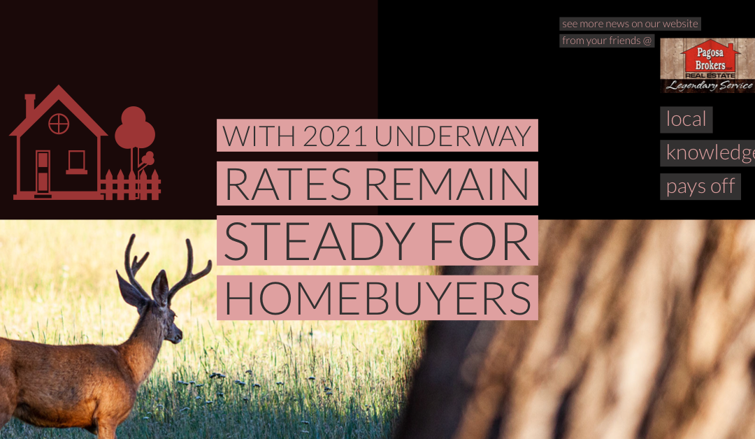 Homebuyers: Steady Mortgage Rates Continue with 2021 Underway